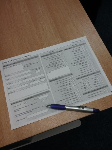 h&s form